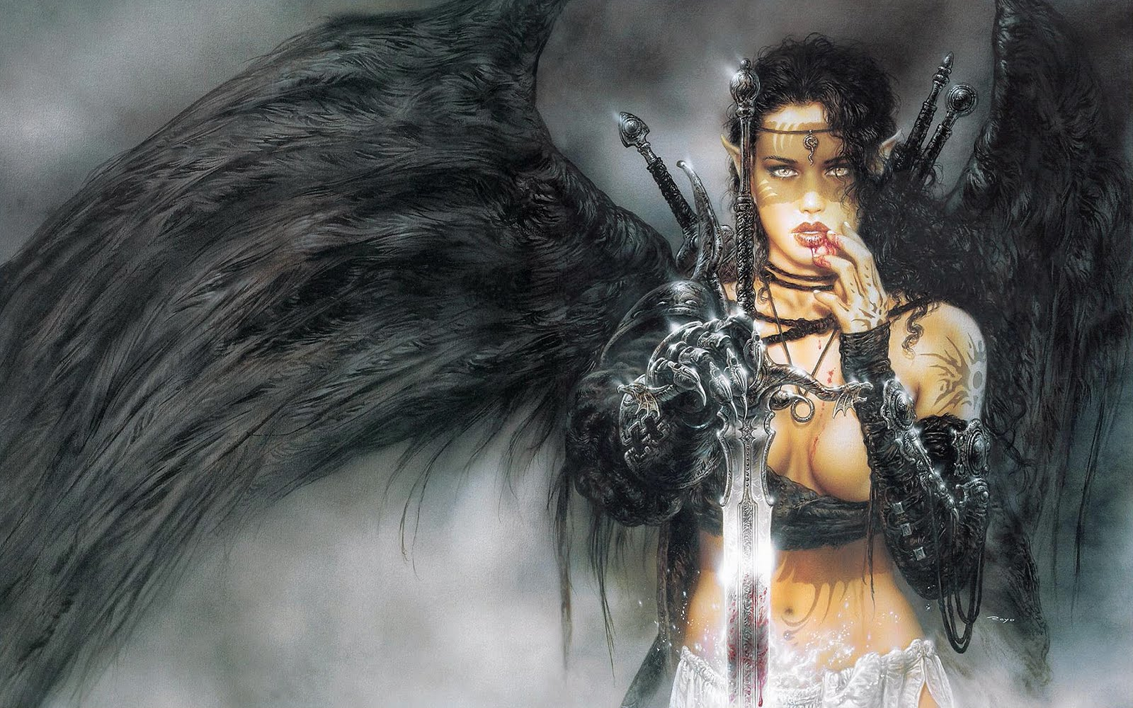 female angel warrior pictures - photo #13